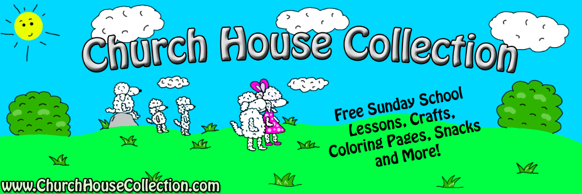 Welcome to Church House Collection! We are a children's ministry website that offers free Sunday school lessons, Sunday school crafts, Sunday school clipart, Sunday school coloring pages, Sunday school snacks and ideas on how to make it, Sunday school puzzles and mazes, and so much more. If you teach Sunday school or children's church then you have come to the right place! Everything we offer is 100 percent free for you to use in your children's ministry. We have lots of printable templates that you can just print off and make copies of for the kids. From old testament to new testament, we have it all! We have done a lesson plan on each Bible story and guess what?! Each lesson plan that we did comes with matching coloring pages, snacks, mazes, crafts and more.   We have Sunday school lessons plans on these Bible stories below:  Adam and Eve Sunday School Lessons, Abraham Sunday School Lessons, Daniel In the Lion's Den Sunday School Lessons, David And Goliath Sunday School Lessons, God's Creation Sunday School Lessons, Jacob and Esau Sunday School Lessons, Jacob's Ladder Sunday School Lessons, Jonah And The Whale Sunday School Lessons, Joseph And The Coat of Many Colors Sunday School Lessons, Lot's Wife Turns Into A Pillar Of Salt Sunday School lessons, Noah's Ark Sunday School lessons, Queen Ester Sunday School Lessons, Samson and Delilah Sunday School Lessons, Saul and the witch of Endor Sunday School Lessons, Ten Plagues of Egypt Sunday School lessons, The Ten Commandments Sunday School Lessons, New Testaments Sunday School Lessons, Old Testament Sunday school lessons, Armor of God Sunday school lessons, The birth of baby Jesus Sunday school Lessons, Born Again Sunday school lessons, Fruit of the Spirit Sunday school lessons, Jesus Calms The Storm Sunday school lessons, Jesus turns water into wine Sunday school lessons, His Eye is on the Sparrow Sunday school lessons, The Last Supper Sunday school lessons, Jesus Raised Lazarus From the Dead Sunday school lessons, Mansions In Heaven Revelation Sunday school lessons, Parables of Jesus Sunday school lessons such as The parable of The Lost Sheep Sunday school lessons, The parable of The Wise Man built his house upon the rock and the foolish man built his house upon the sand Sunday school lessons, The parable of the widow woman and the unjust judge Sunday school lessons, The parable of the mustard seed Sunday school lessons, The pearl of great price Sunday school lessons, The parable of the prodigal son Sunday school lessons, The parable of the sower Sunday school lessons, Paul bitten by a viper Sunday school lessons, The Day of Pentecost Sunday school lessons, The Woman at the well Sunday school lessons, Washing My Sins clean Sunday school lessons, Zacchaeus And Jesus Sunday School Lessons. We also have Seasonal Sunday school lessons. For the fall section we have Candy Apple Sunday school lessons, Candy Corn Sunday school lessons, Corn Sunday school lessons, Acorn Sunday school lessons, Pumpkin Sunday school lessons, Scarecrow Sunday school lessons, Hay Sunday school lessons, turkey thanksgiving Sunday school lessons, Christmas Sunday school lessons, Snowman Sunday school lessons, Angel Sunday school lessons, Happy Birthday Jesus Sunday school lessons, The Birth of Jesus Sunday school lessons, Nativity Sunday school lessons, Three Wise Men Sunday school lessons, Valentine's Day Sunday school lessons, Easter Sunday school lessons, My Heart Belongs to Jesus Sunday school lessons, Jesus Loves The Little Children Sunday school lessons, Daylight Savings Time Sunday School Lessons