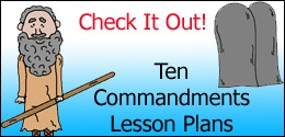 Ten Commandments Sunday School Lessons