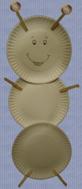 Ant Labor Day Paper Plate Craft