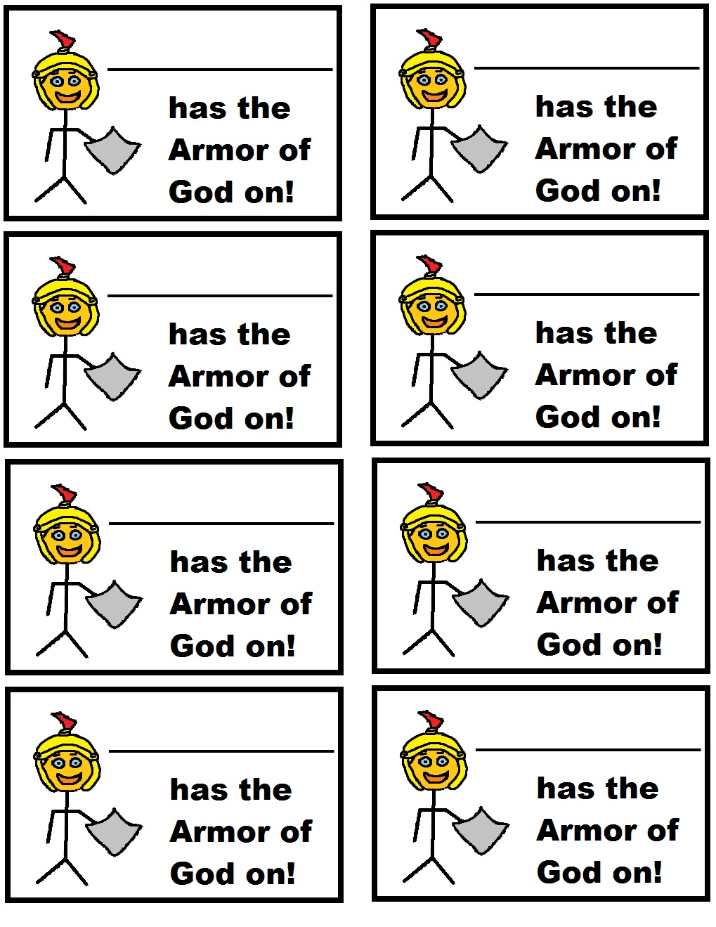 Free Coloring Pages Of Armor Of God Printable