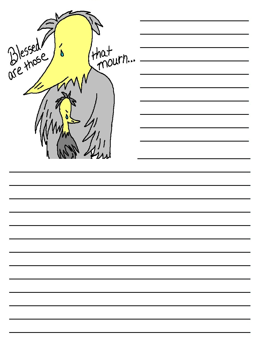 Doc474609 Free Lined Handwriting Paper Blank Lined Paper – Free Handwriting Paper Template