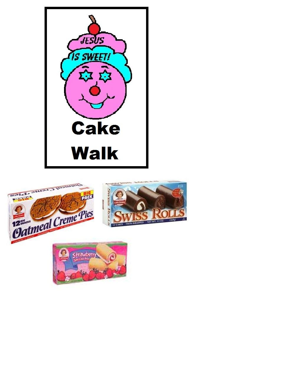 Cake Walk Game