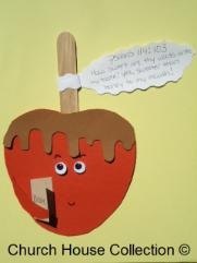 Candy Apple Craft Holding bible Psalms 119:103