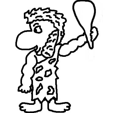Cave City Caveman Clipart Picture