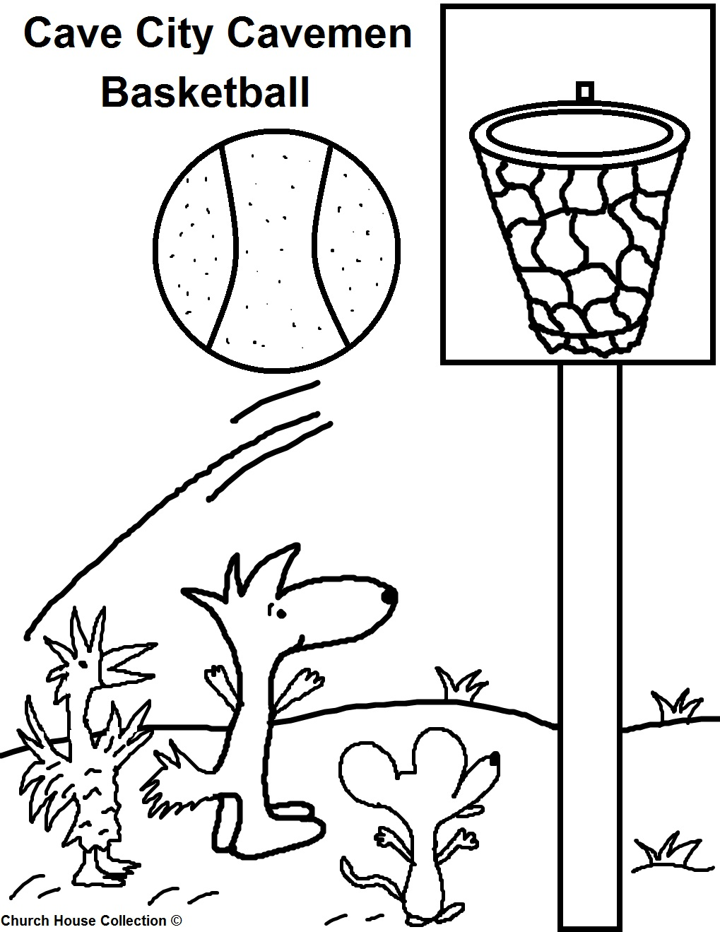 caveman coloring pages - photo#36