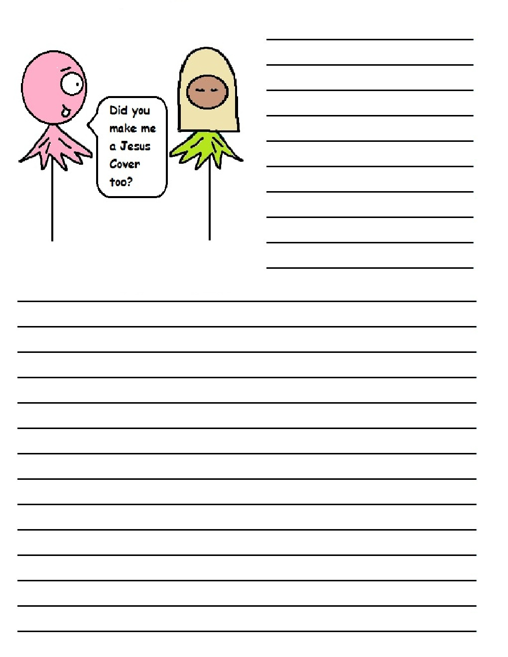 printed writing paper