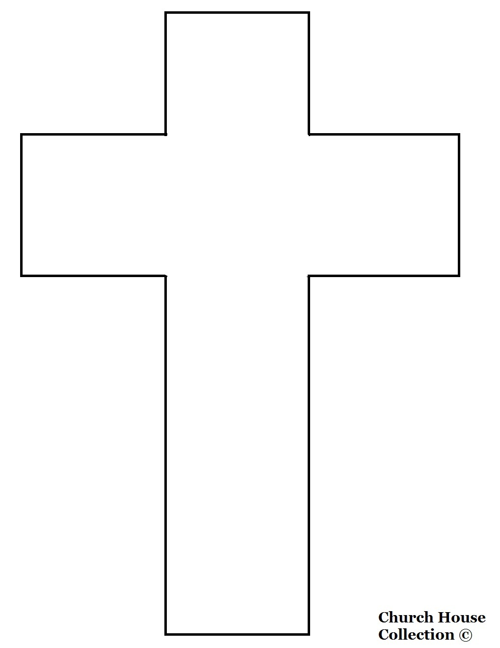 Terrible image inside printable crosses