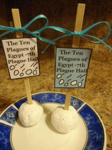 The Ten Plagues of Egypt Hail Donut Recipes