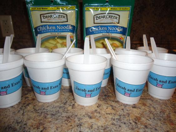 Esau and Jacob Soup Recipe Snack With Printable Template