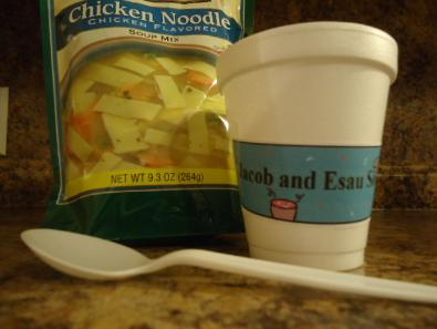 Jacob and Esau Soup Recipe for Church