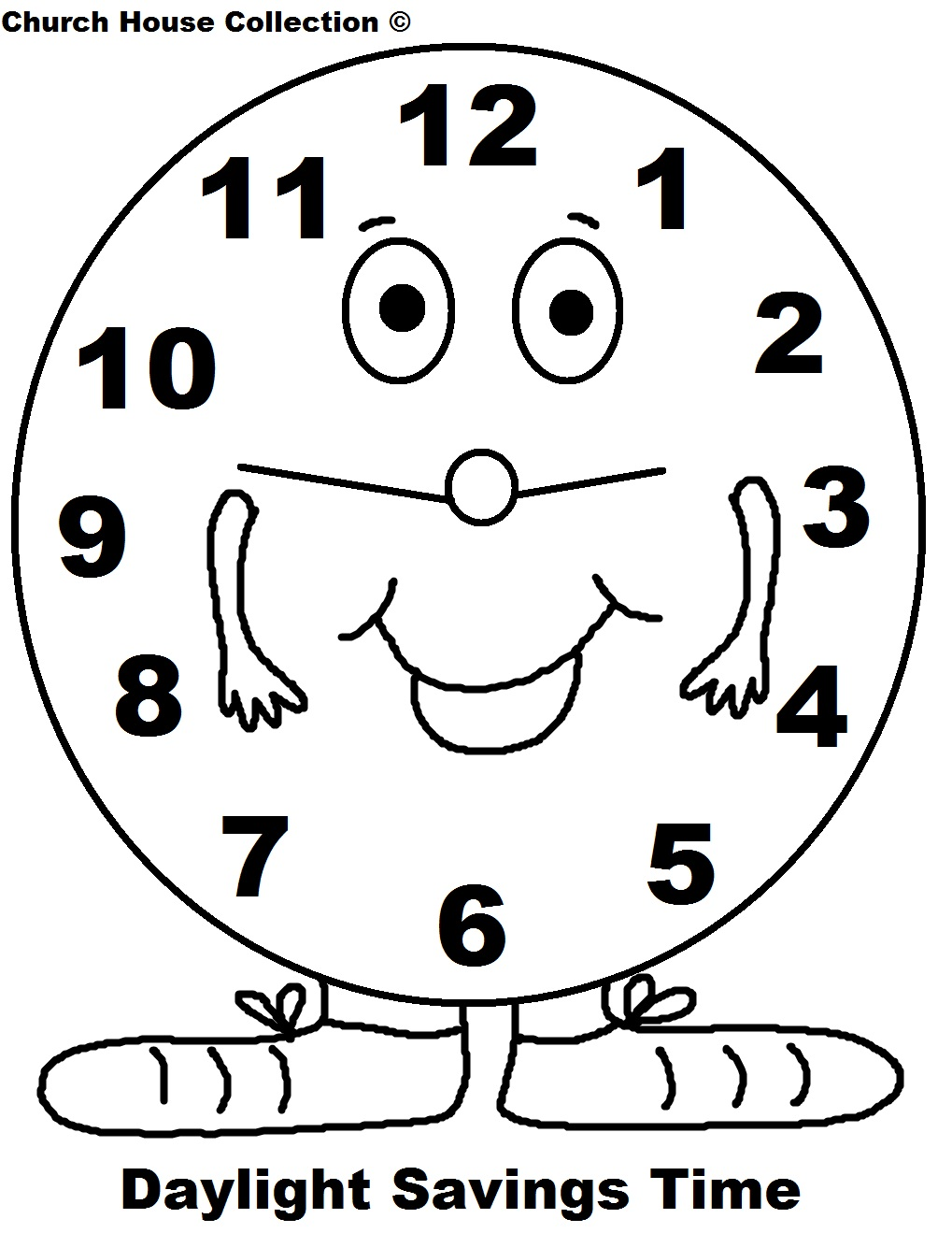 Daylight Savings Clipart | Chadholtz