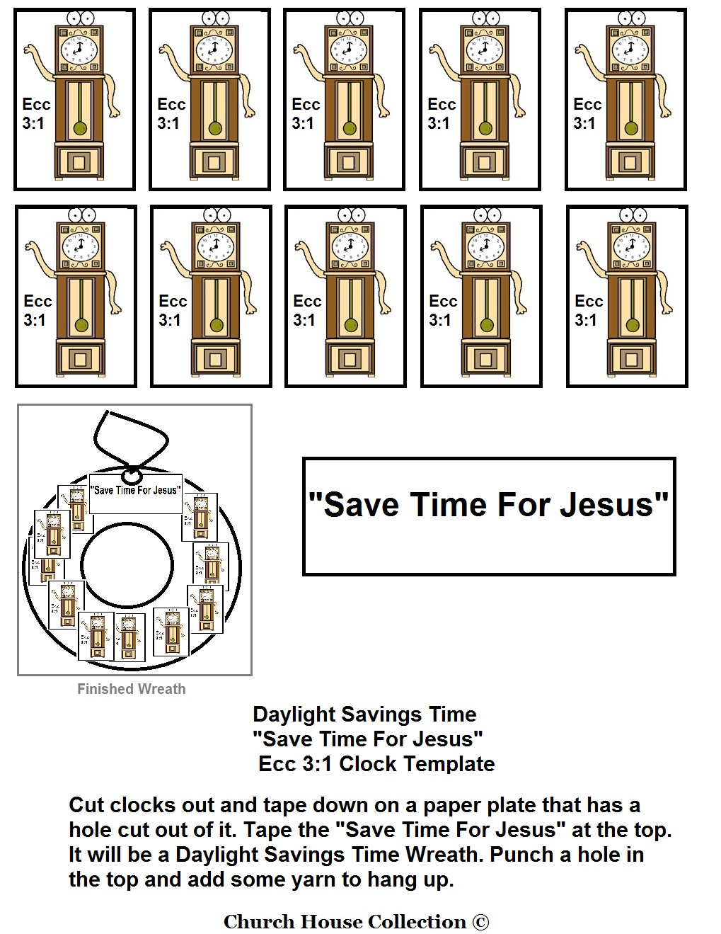 daylight savings time save time for jesus lesson. Black Bedroom Furniture Sets. Home Design Ideas