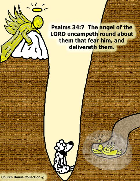 Deliverance Is Coming Pslams 34:7 The angel of the Lord encampeth round about them fear him and delivereth them