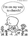 Easter Chick Coloring Pages For Sunday School
