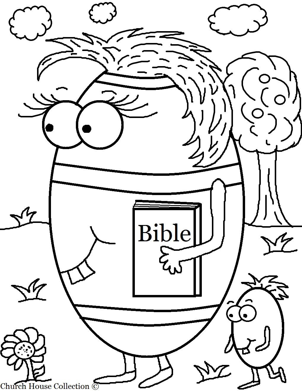 printable bible coloring pages - photo#16