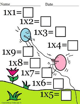 Multiplication Worksheets : multiplication worksheets resources ...