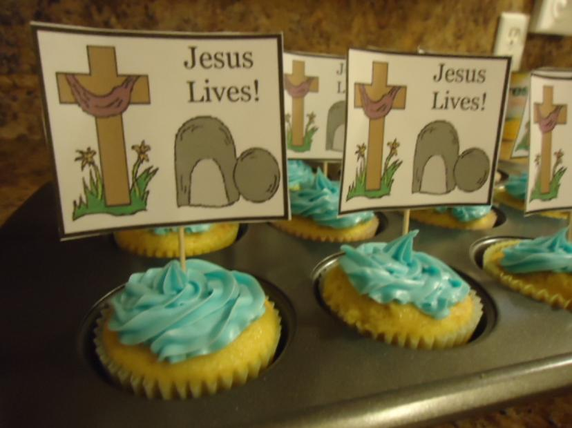 Easter Tomb Cupcakes For Sunday
