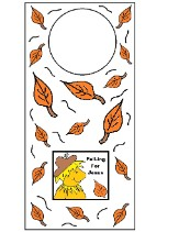 Fall Falling For Jesus Doorknob hanger Craft