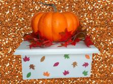 Fall Cake Stands