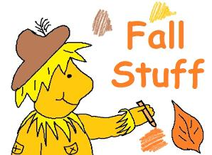 Fall Pumpkins Scarecrows Candy Corn Free Sunday School Lessons for kids by Church House Collection