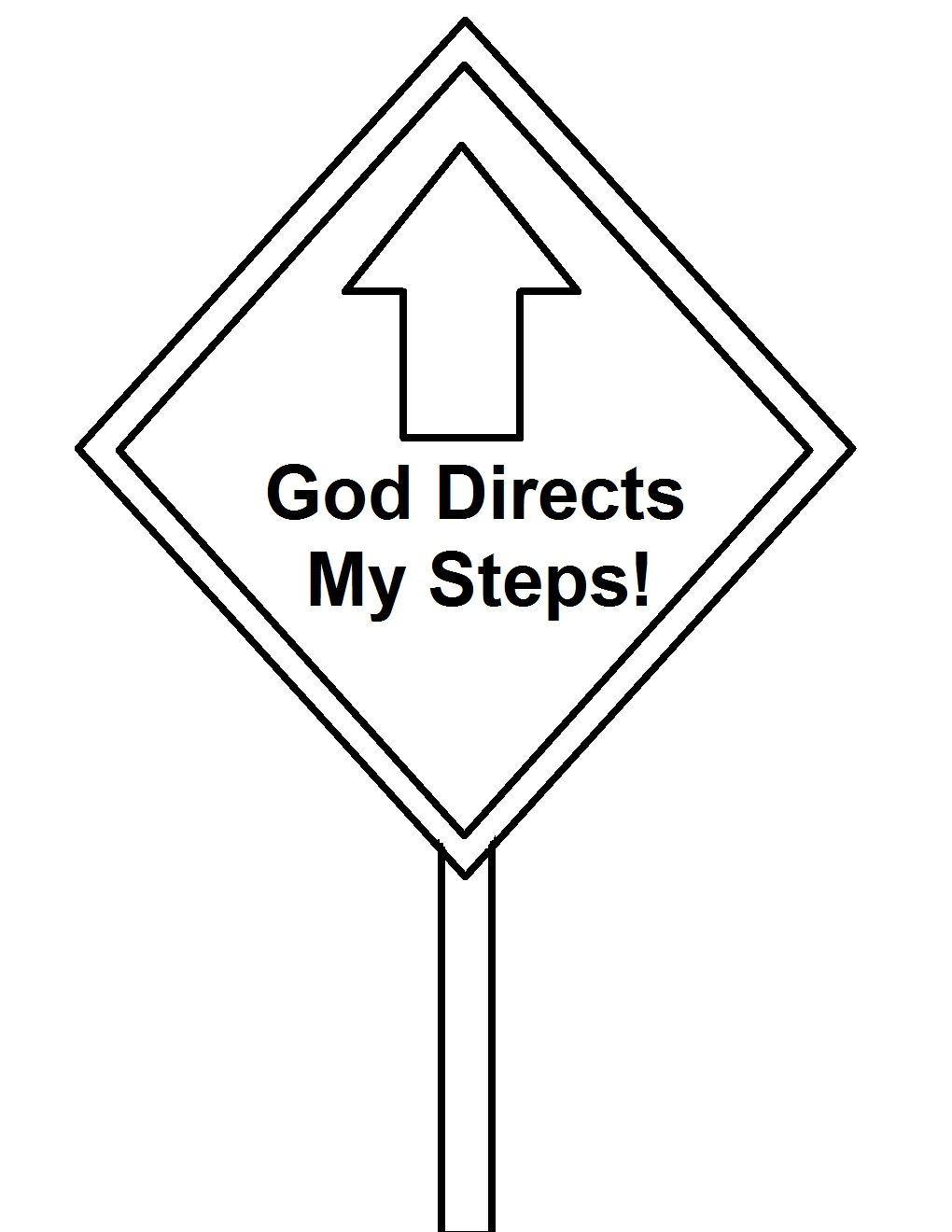 road construction sign coloring pages - photo #9