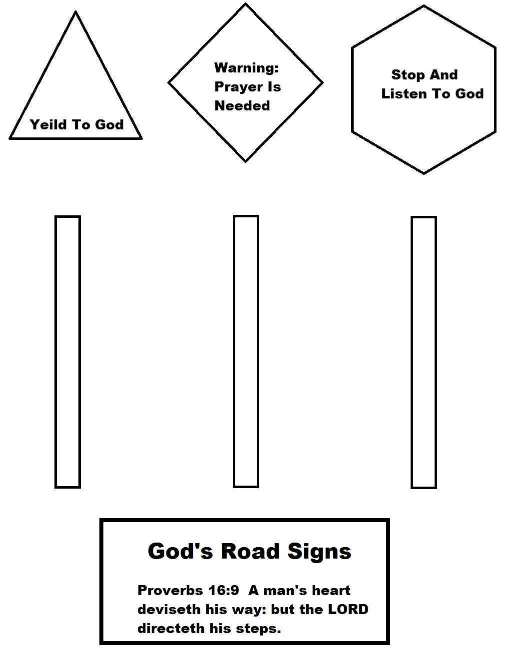 road signs coloring pages print - Construction Signs Coloring Pages