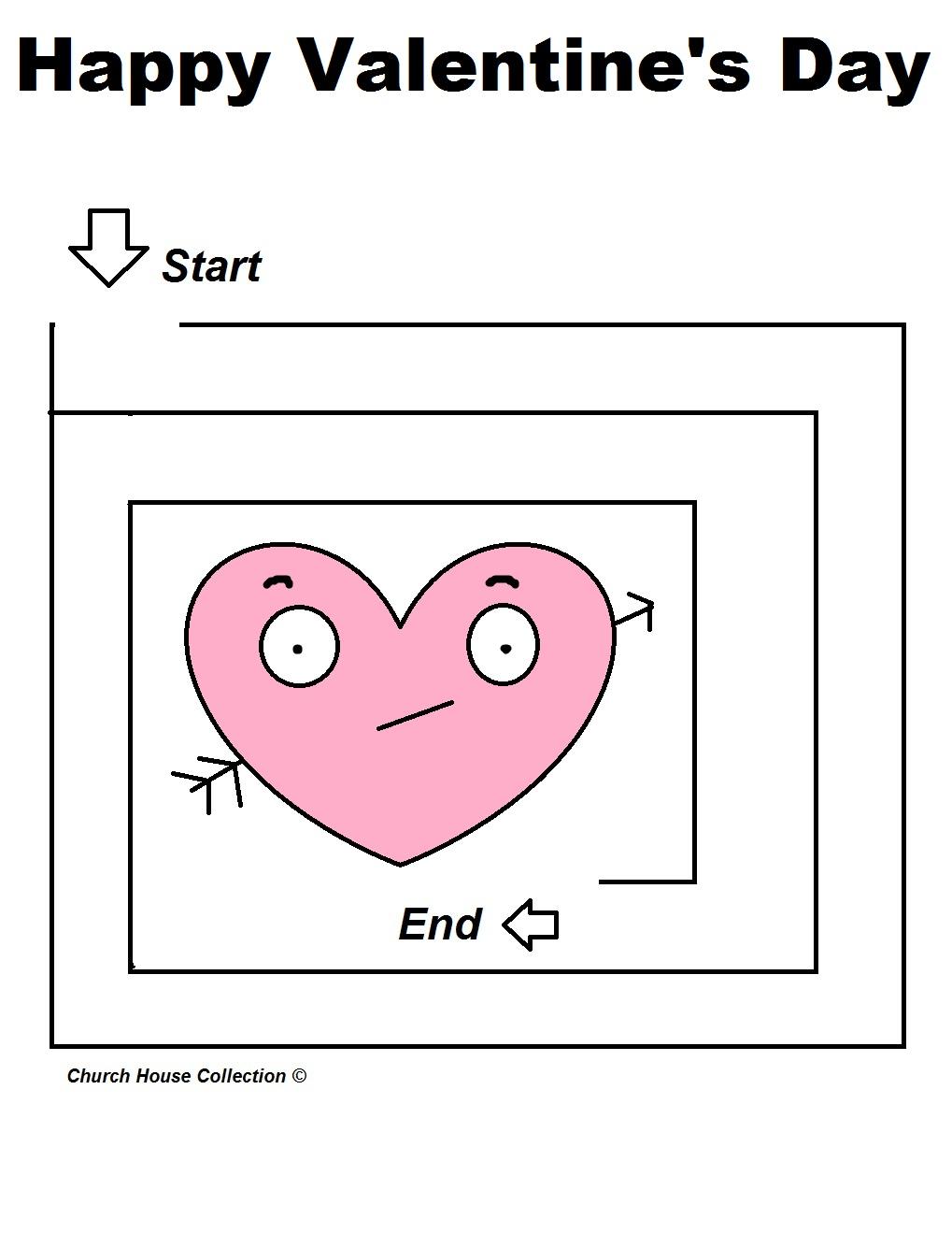 Uncategorized Valentine Mazes valentines day heart maze quotes mazes for school