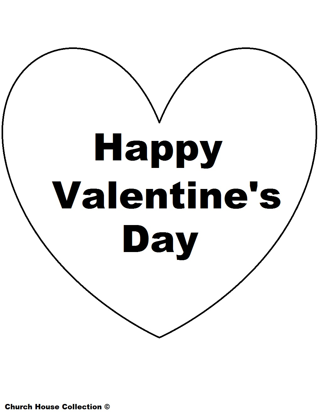 Happy Valentines Day Hearts Coloring Pages Quotes
