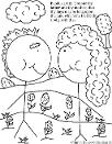 honor thy mother and father coloring page