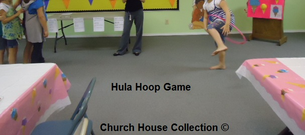 Hula Hoop Game For Children's Church