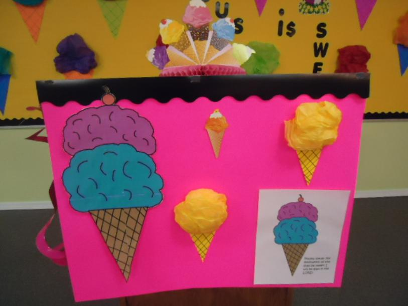 Vacation Bible School Themes- Ice Cream Jesus is Sweet VBS