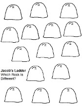 Jacob's Ladder Activity Sheet For Kids