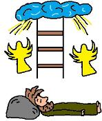 Free Jacob's Ladder Sunday School Lessons For kids or preschoolers