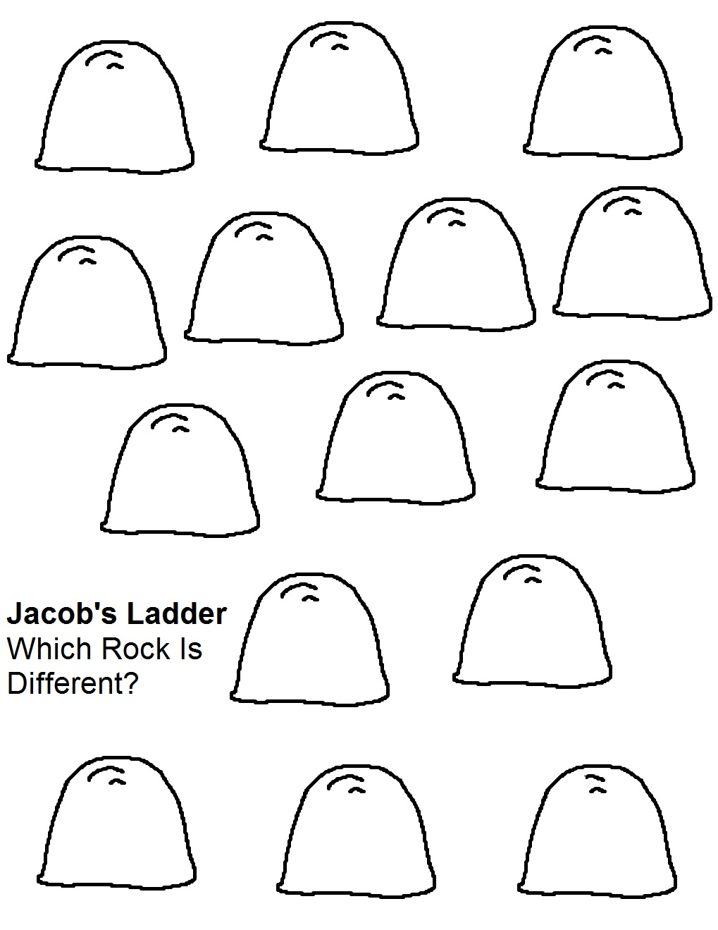 Jacob S Ladder Sunday School Lesson