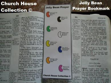 Jelly Bean Prayer Bookmark