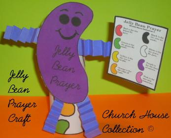 Jelly Bean Prayer Toilet Paper Roll Craft For Easter