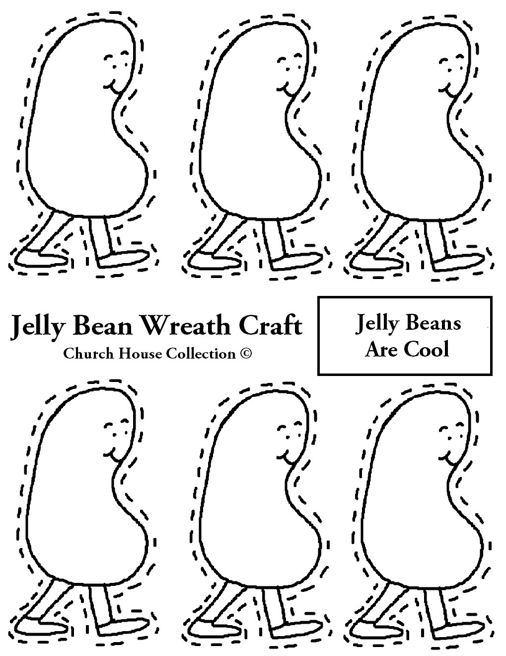 printable version jelly beans coloring page