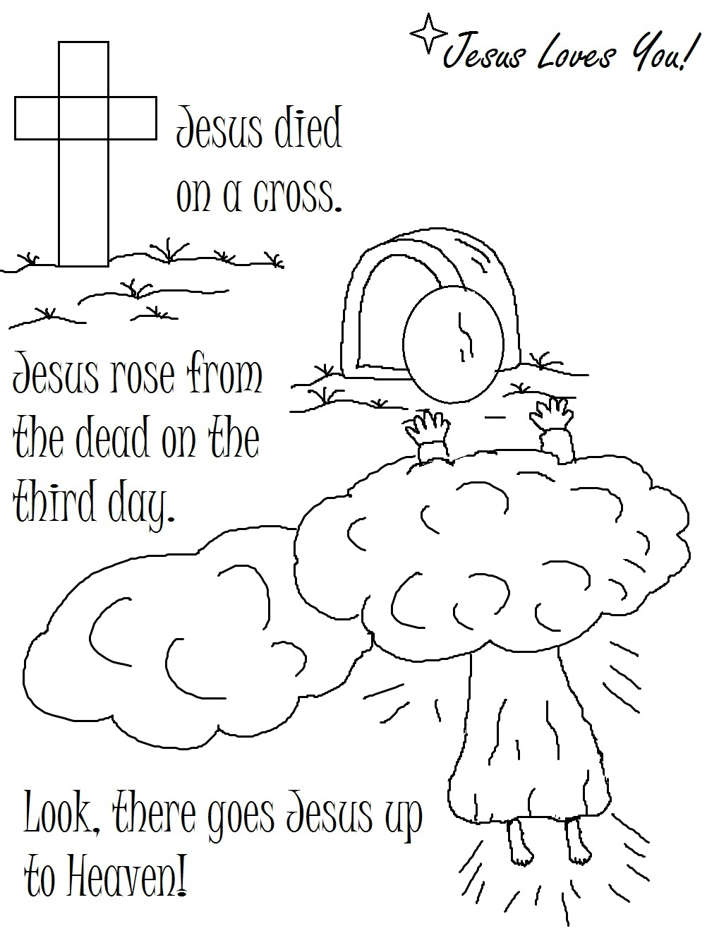jesus christ coloring pages - jesus coloring pages