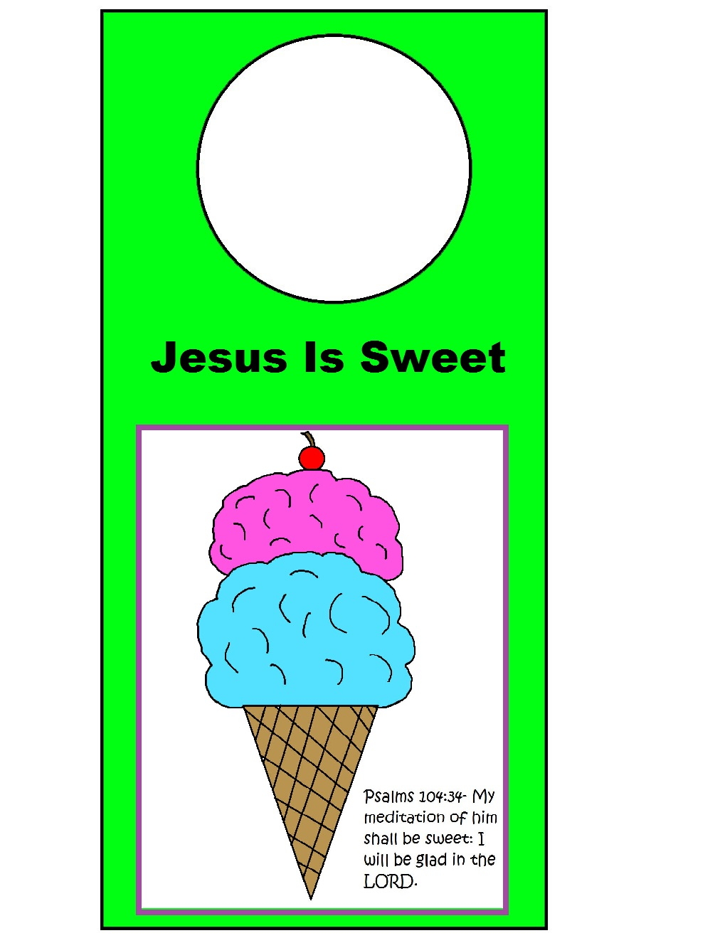 Church House Collection Blog: Jesus Is Sweet VBS