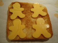 Jesus loves the little children snack cheese toast
