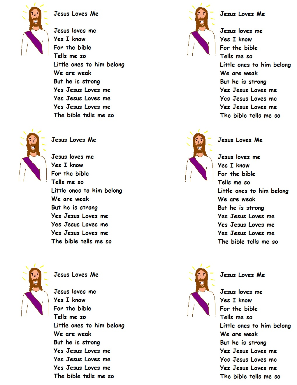 printable song lyrics