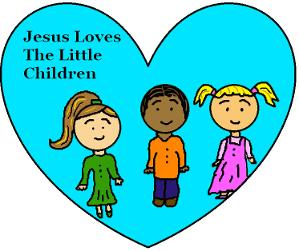 Jesus Loves The Little Children- Valentine's Day Free Sunday School Lessons for kids by Church House Collection