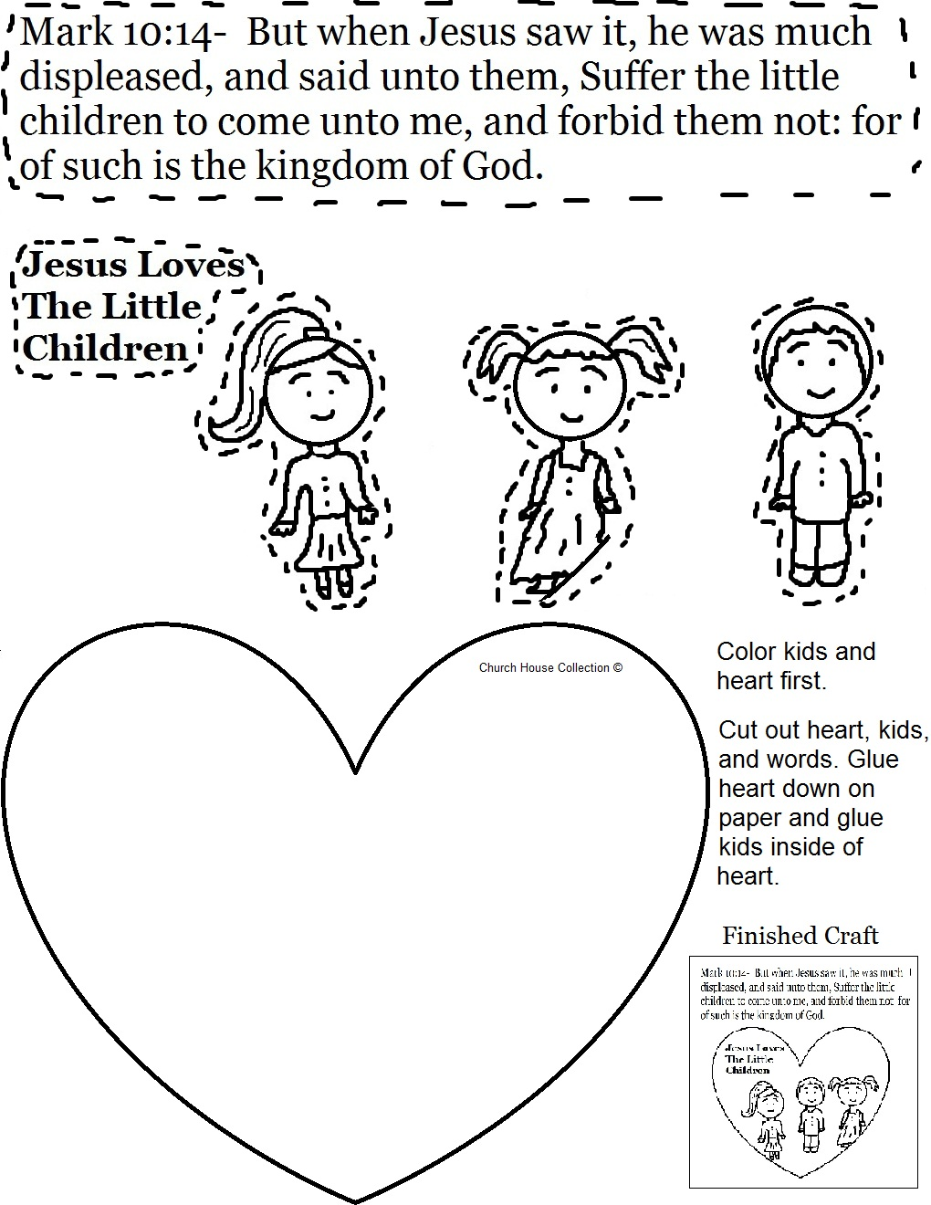 Coloring Pages Jesus And The Children Coloring Pages jesus loves children sunday school lesson the little activity sheet