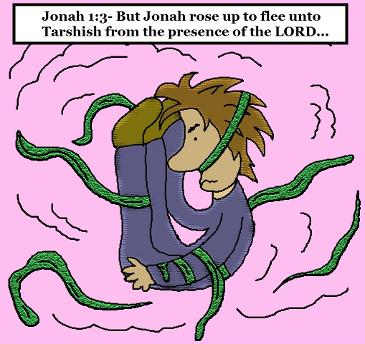 Free Jonah and The Whale Sunday School Lessons For Kids by Church House Collection