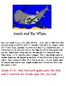 Jonah and The Whale Sunday School Lesson