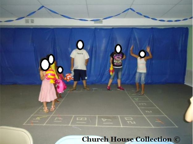 Jonah and The Whale VBS Idea- Debbie Cake Walk Game