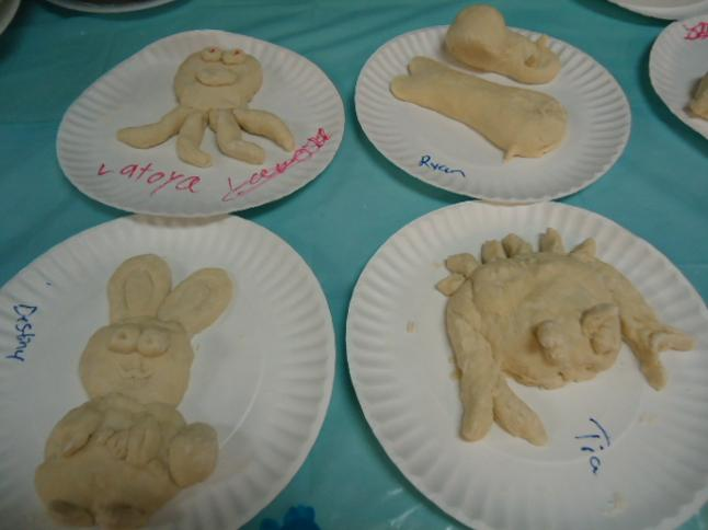 Jonah and The Whale VBS Idea- salt dough creatures and animals