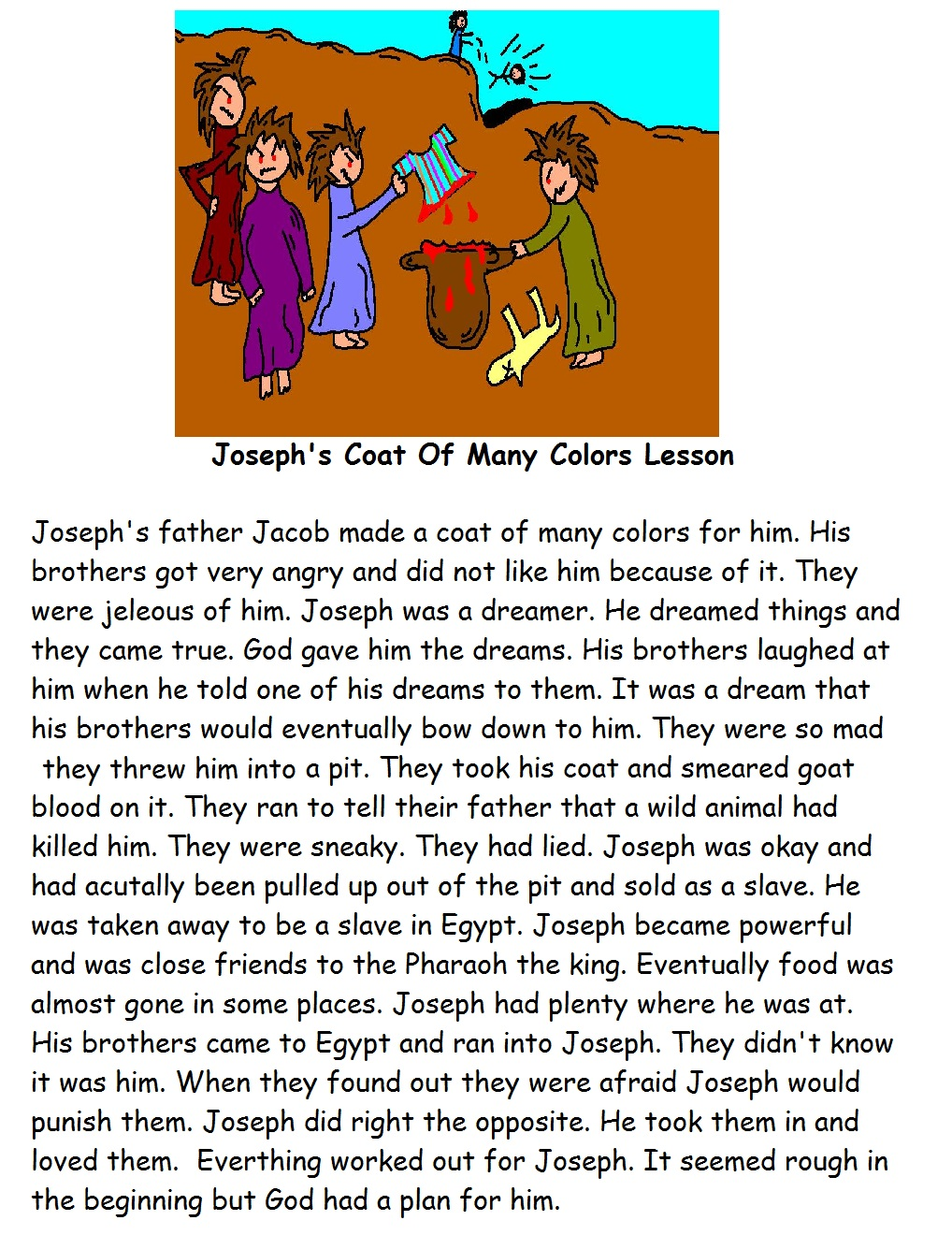 Messy Church - Joseph/Forgiveness on Pinterest | Coat Of Many Colors ...