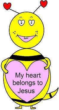 My Heart Belongs To Jesus- Valentine's Day Free Sunday School Lessons for kids by Church House Collection