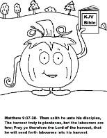 Pumpkin Sunday School Lesson